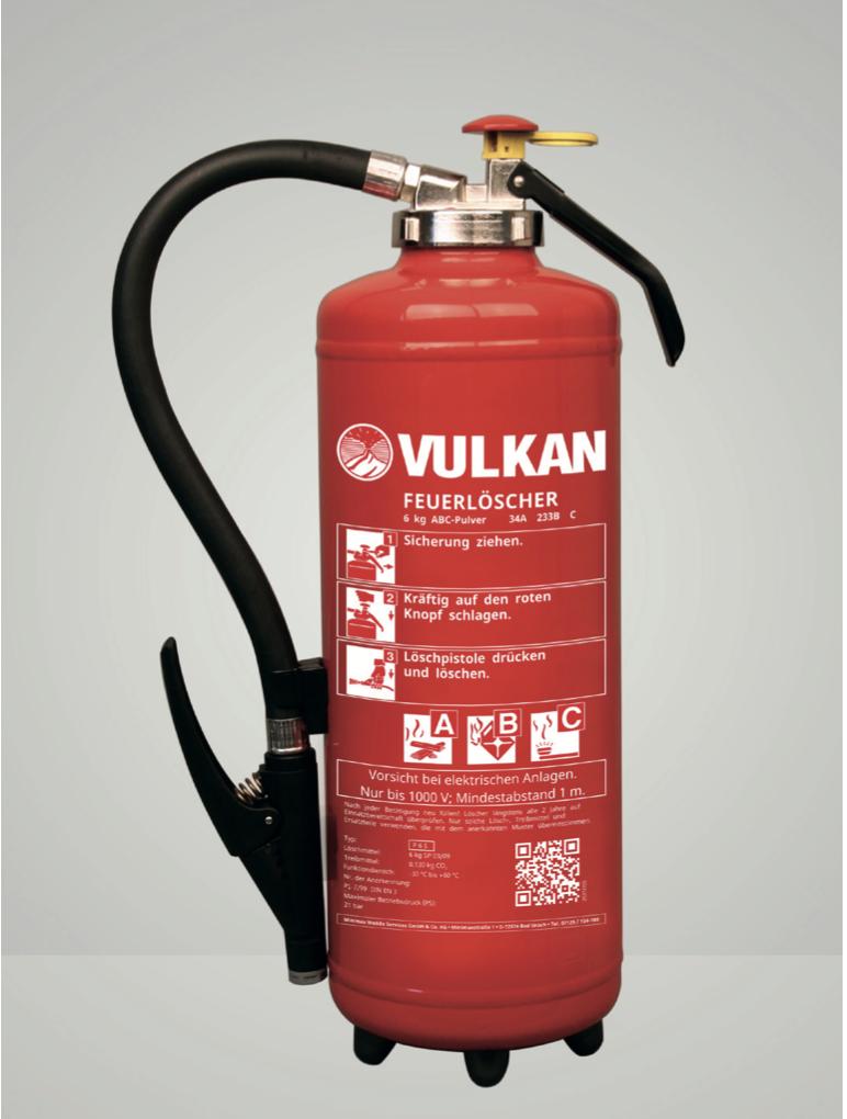 Pulver-Aufladefeuerlöscher