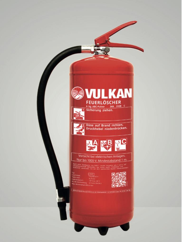 Pulver-Dauerdruckfeuerlöscher